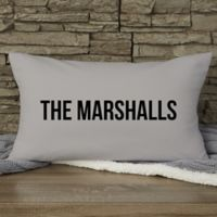Write Your Own Home Expressions Personalized Throw Pillow