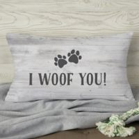 Our Pet Home Personalized Throw Pillow