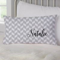 Patterned Name Meaning Personalized Throw Pillow