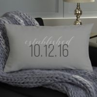 Our Story Personalized Throw Pillow