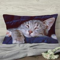 Pet Photo Memories Personalized Throw Pillow
