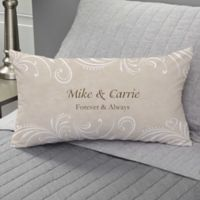 Precious Moments® Wedding Personalized Throw Pillow