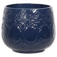 Steven Sabados S&C 8-Inch Ceramic Vase in Navy