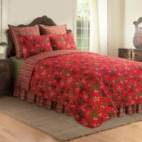 Kellyn Reversible Full/Queen Quilt in Red