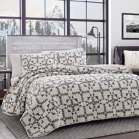 Eddie Bauer® Arrowhead Twin Quilt Set in Charcoal