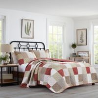 Stone Cottage Rivington Full/Queen Quilt Set in Red