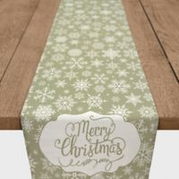 Snowflake 72-Inch Table Runner in Yellow
