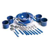 Stansport® 24-Piece Tableware Set in Blue