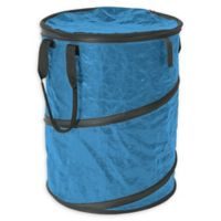 Stansport® Collapsible Trash Can with Lid in Blue