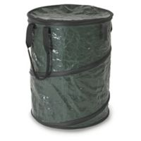 Stansport® Collapsible Trash Can with Lid in Green