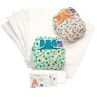 Bambino Mio Miosolo Size 12-24M 61-Piece Rainforest Cloth Diaper Set