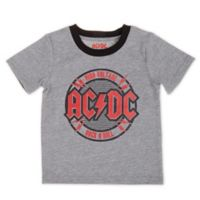 AC/DC Size 24M T-Shirt in Grey