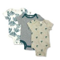 Modern Baby® 3-Month 3-Pack Palms Bodysuits