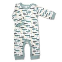 Modern Baby® Newborn Narwhal Coverall