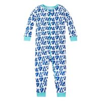 Lamaze® Size 18M Organic Cotton Triangles Pajama in Blue