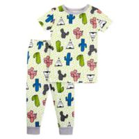 Lamaze® Size 24M 2-Piece Organic Cotton Cactus Pajama Set in Green