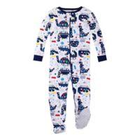 Lamaze® Size 24M Organic Cotton Dinosaur Pajama in White