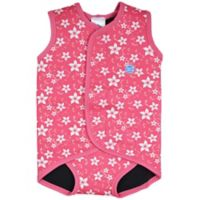 Splash About Size 6-18M Blossom Baby Wrap Wetsuit in Pink