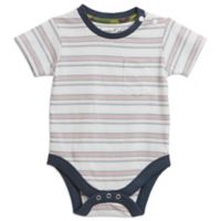 Sovereign Code™ Size 6-9M Short Sleeve Striped Bodysuit