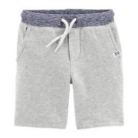 carter's® Size 3M Pull-On French Terry Short in Heather Grey