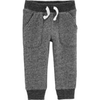 carter's® Size 3M Marled Yarn Pull-On Pant in Black