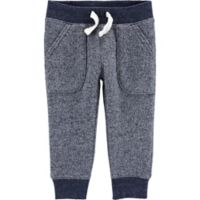 carter's® Size 3M Marled Yarn Pull-On Pant in Navy