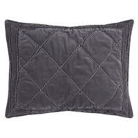 Rizzy Home Collin Standard Pillow Sham in Grey