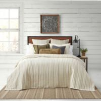 Bee & Willow™ Yarn Dye Stripe Stripe Full/Queen Coverlet Set in Neutral