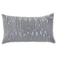 Callisto Home Modern Oblong Throw Pillow in Teal