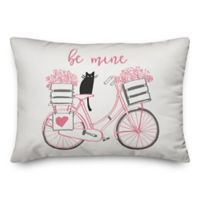Designs Direct Be Mine Oblong Throw Pillow in Pink