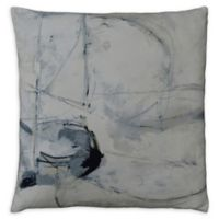 Moe's Home Collection Square Throw Pillow in Grey