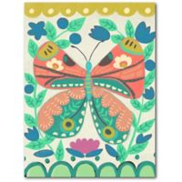 Courtside Market™ Colorful Butterfly I 18-Inch x 24-Inch Framed Wrapped Canvas