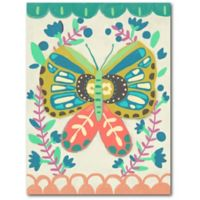 Courtside Market™ Colorful Butterfly 24-Inch x 18-Inch Framed Wrapped Canvas Wall Art
