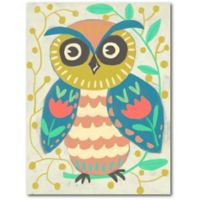 Courtside Market™ Wise Owl Framed Wrapped Canvas
