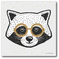 Courtside Market™ Cool Raccoon 16-Inch x 16-Inch Framed Wrapped Canvas Wall Art
