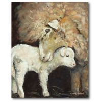 Courtside Market™ 16-Inch x 20-Inch Love Ewe Canvas Wall Art
