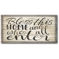 Courtside Market™ Bless This Home 12-Inch x 1.5-Inch Framed Wrapped Canvas