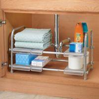 iDesign® Cabrini Under Sink Organizer Shelf in Silver