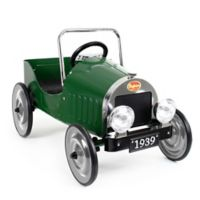 Baghera Classic Metal Ride-On Pedal Car in Green