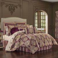 J. Queen New York™ Amethyst King Comforter Set in Purple
