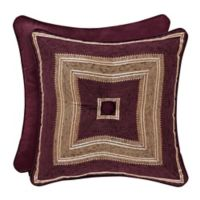 J. Queen New York™ Amethyst 18-Inch Square Throw Pillow in Purple