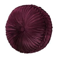J. Queen New York™ Amethyst 15-Inch Round Throw Pillow in Purple