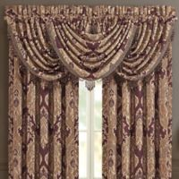 J. Queen New York™ Amethyst Rod Pocket Window Valance in Purple