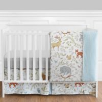 Sweet Jojo Designs Woodland Toile 4-Piece Crib Bedding Set