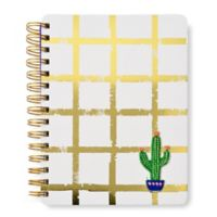 Gartner Studios® Marami Gold Grid Catcus Patch Journal