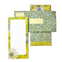 Mara-Mi® 10-Pack Floral Tea Length Invitation Set in Lime Green