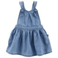 carter's® Size 3M Chambray Sweetheart Dress