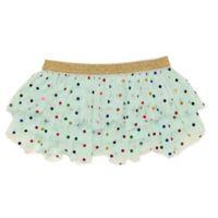 Baby Starters® Size 9M Polka Dot Tutu in Aqua