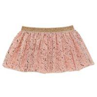 Baby Starters® Size 3M Splatter Print Tutu in Pink/Rose Gold