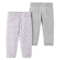 Little Planet™ Organic by carter's® Size 3M 2-Pack Floral Pants
